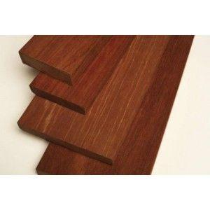 Geschaafd hardhout planken