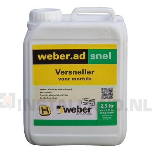 Bestel chemische bouwstoffen voordelig bij bouwmaterialen zeeland - Weber prim ad ...