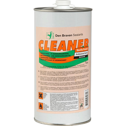 Zw. Cleaner 1000ml blik