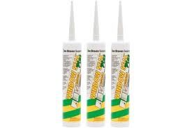 Zw. Windowseal Plus Wit 310ml kr