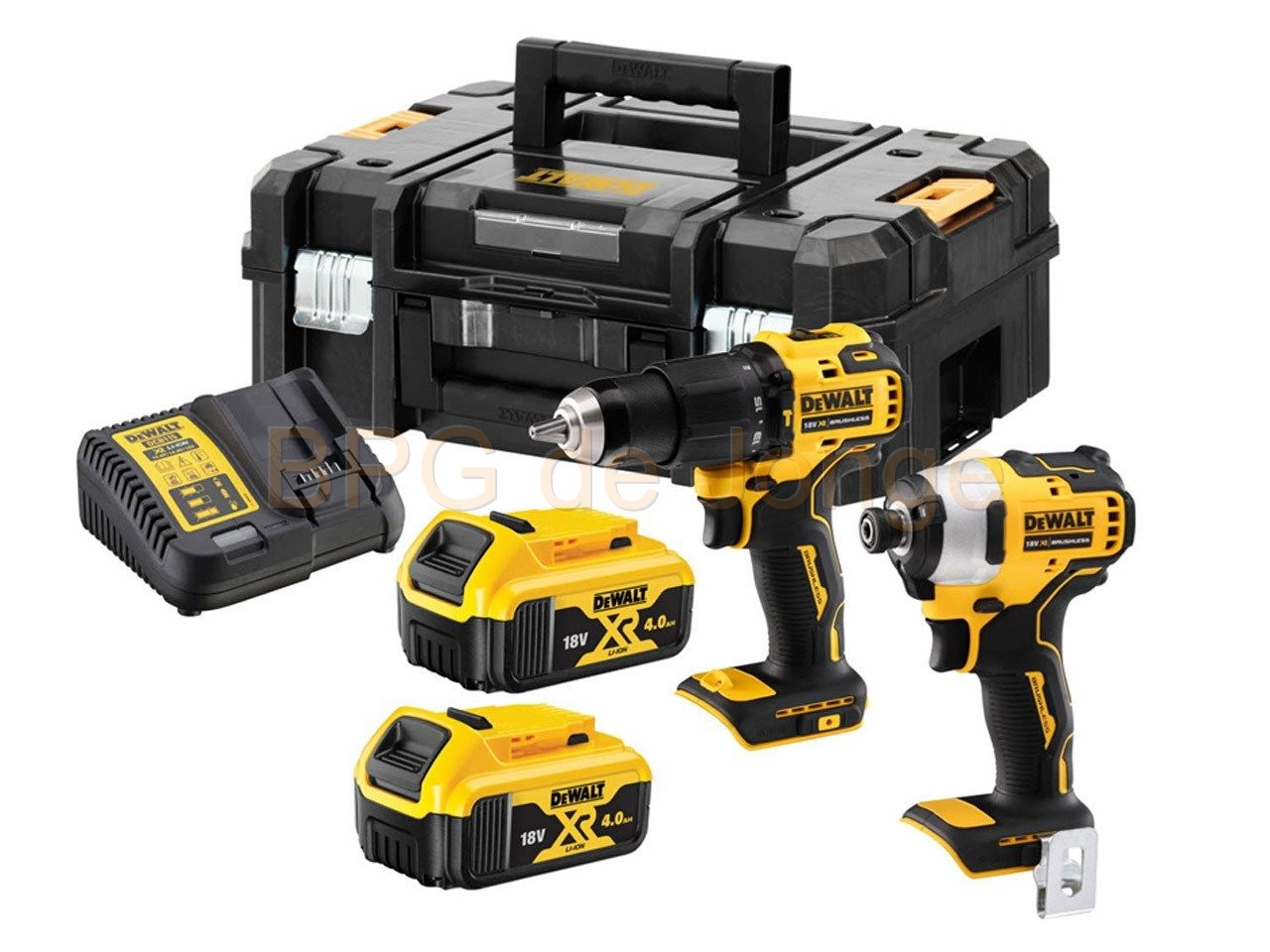 Dewalt 18V XR Brushless DCD709 + DCF809